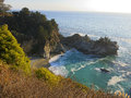 Big Sur cove Royalty Free Stock Photo