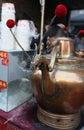 The big teapot during temple fair tianjin china Stock Photo