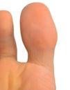 Big toe Royalty Free Stock Photo