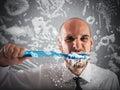 Big toothbrush Royalty Free Stock Photo