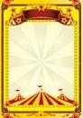 Big Top circus flyer Royalty Free Stock Photo