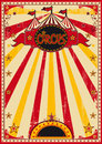 Big top fun poster a circus colored posters with sunbeams Royalty Free Stock Photos