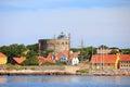 The Big Tower Christiansoe Bornholm Denmark Royalty Free Stock Photo