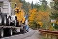 Big Truck Transports Other Tru...