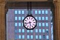 Big urban clock. Milan, Italy. Royalty Free Stock Photo