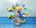 The big washing concept.