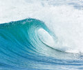 Big wave breaking - summer background Royalty Free Stock Photo