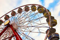 The Big Wheel Royalty Free Stock Images