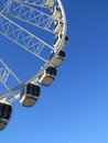 Big wheel close up of the adjacent to the pier in brighton Royalty Free Stock Photography
