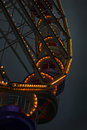 Big wheel at dusk Royalty Free Stock Photo