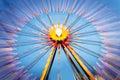 Big wheel on a fun fare Royalty Free Stock Photo
