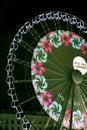 Big wheel - Lights festival Lyon 2010 Royalty Free Stock Photo