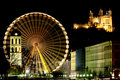 Big wheel in Lyon (France) Royalty Free Stock Photo