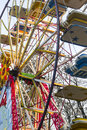 Big wheel in the parco sempione milan lombardy italy Stock Photos