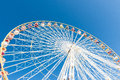 Big wheel in the sky Royalty Free Stock Photo