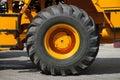 Big wheel of truck Royalty Free Stock Photo