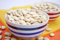 Big white beans Royalty Free Stock Photo