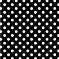 Grande bianco punti su nero