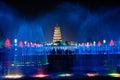 Big Wild Goose Pagoda in Xian Royalty Free Stock Photo
