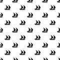 Big yacht pattern, simple style