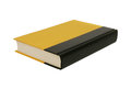Big yellow book Royalty Free Stock Photos