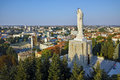 The biggest monument of virgin mary in the world city of haskovo bulgaria Royalty Free Stock Photography