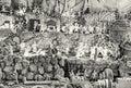 Biggest movable wooden bethlehem, Banska Stiavnica, colorless