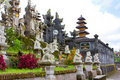 The biggest temple complex. Bali,Indonesia. Besaki Stock Photos