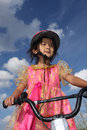 Bike child Royalty Free Stock Images