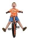 Bike crash Royalty Free Stock Photo