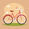 Bike and cyclism graphic design vector illustration eps Royalty Free Stock Photos