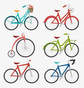 Bike and cyclism graphic design vector illustration eps Stock Photo
