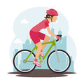 Bike and cyclism graphic design vector illustration eps Royalty Free Stock Photography