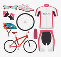 Bike and cyclism graphic design vector illustration eps Stock Photography