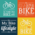Bike design over colorful background vector illustration Royalty Free Stock Photo