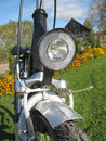 Bike front light Stock Images