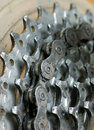 Bike Gear Royalty Free Stock Photography