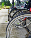 Bike Rack Stock Images