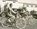 Bike riding fun Royalty Free Stock Photo