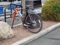 Bike transportation healthy nice ridding Royalty Free Stock Photos