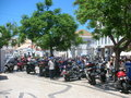 Bike week harley davidson faro algarves portugal Stock Photography