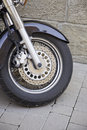 Bike wheel transport vehicle detail modern bike Stock Photography