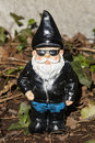 Biker Gnome Royalty Free Stock Photo