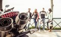 Bikers Royalty Free Stock Photo