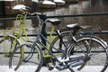 Bikes in amsterdam. Royalty Free Stock Images