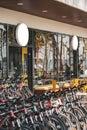 Modern bike shop Royalty Free Stock Photo