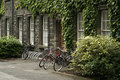 Bikes at Trinity College Royalty Free Stock Photo