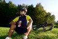 Biking #4 Royalty Free Stock Image