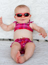 Bikini baby Royalty Free Stock Photo
