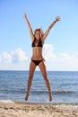 Bikini bottom model Royalty Free Stock Photo